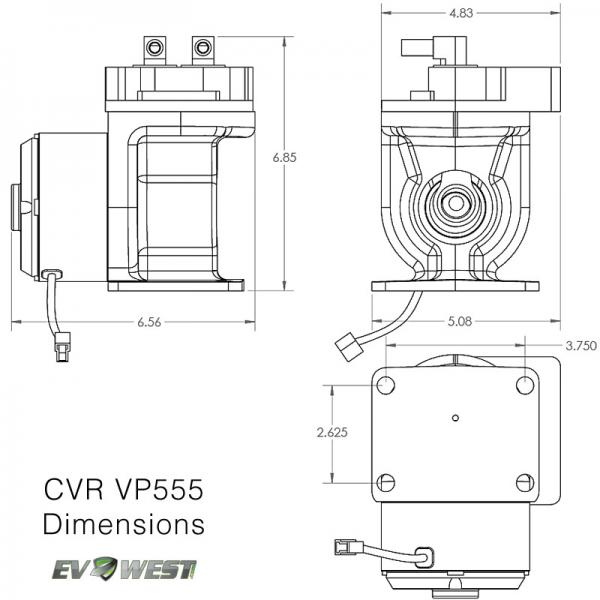 cvr vacuum pump vp555 ev brake booster 1 cvr vacuum pump vp555 ev brake booster, ev west electric ssbc vacuum pump wiring diagram at readyjetset.co