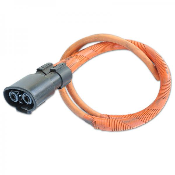 2 Pole Tyco High Voltage Receptacle Connector And Cable Plug From