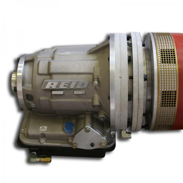 Powerglide 2 speed direct drive transmission for ev motors for Siamese 9 electric motor