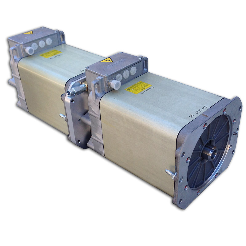200kw Dual Siemens Azure Ac Induction 3 Phase Motor 1pv5135 4ws14