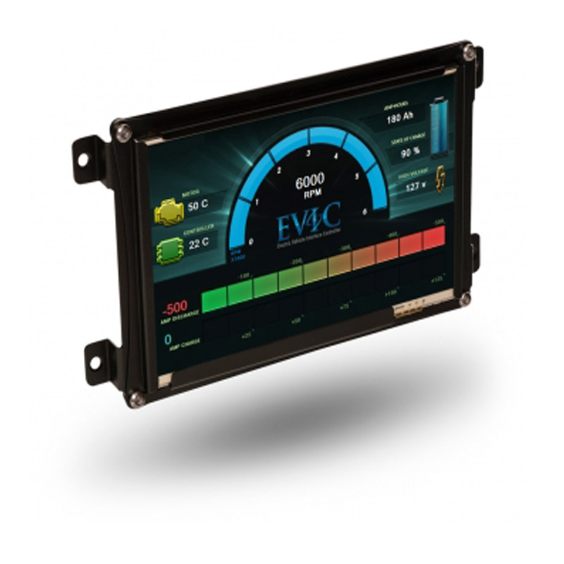 andromeda evic graphical interface display, ev west electricandromeda evic graphical interface display, ev west electric vehicle parts, components, evse charging stations, electric car conversion kits