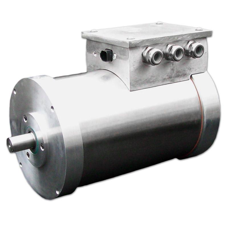 Oil Cooled Curtis 1238 7601 Hpevs Ac 34 Brushless Motor Kit