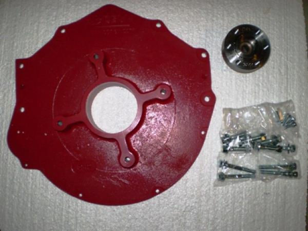 Chevy Small Block Adapter, EV West - Electric Vehicle Parts